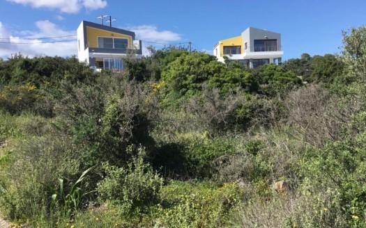 Propriété de deux villas avec piscines et vue fantastique sur la mer à Milatos.